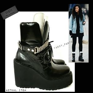 08f8895617e Puma Shoes - Puma Fenty by Rihanna platform wedge sneaker boot