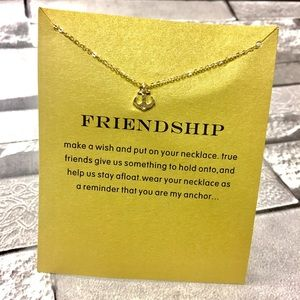Jewelry - Friendship anchor Charm Pendant Necklace
