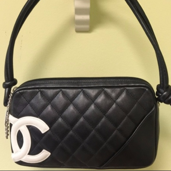c544584e599675 CHANEL Bags | Black Quilted Ligne Cambon Mini Tote Bag | Poshmark