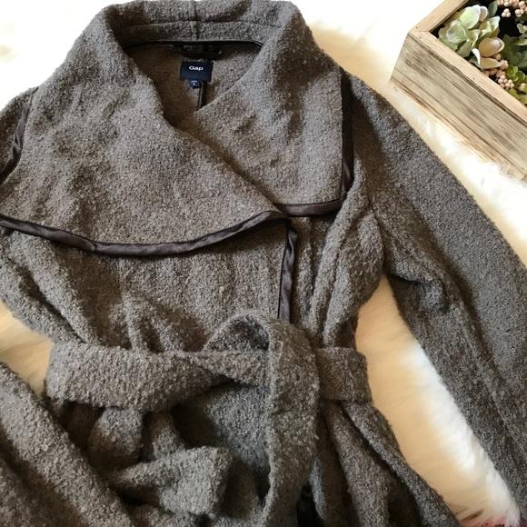 634202852f GAP Sweaters - Gap Wool Wrap Sweater Jacket