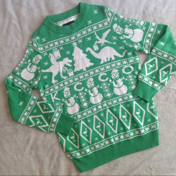 Tipsy Elves The Chive Naughty Snowman Ugly Sweater