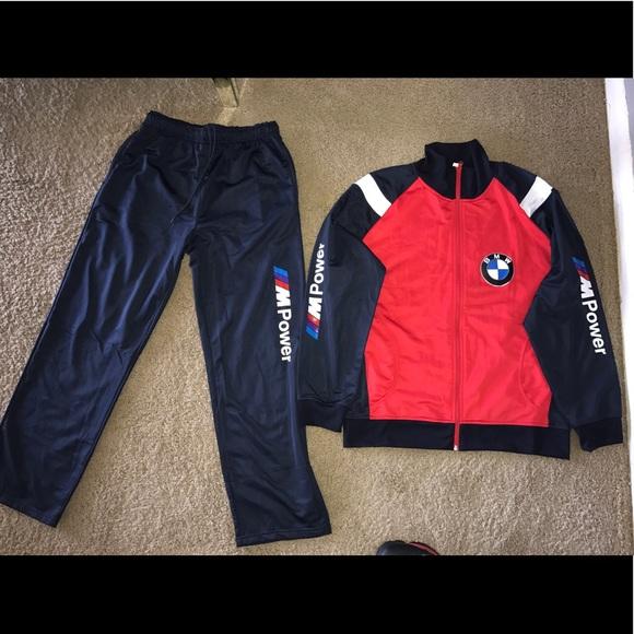 track suit shirts poshmark listing bmw motorsport puma m sz sweatsuit xl