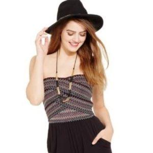 Jessica Simpson Caitlin Strapless Romper w/Pockets