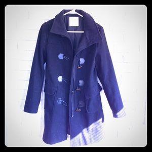 Foreign Exchange black warm heavy winter coat