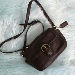 Coach Campbell Mahogany camera bag Handbag