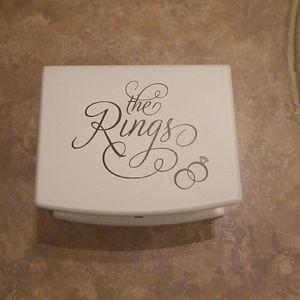 Accessories - Ring bearer box 💍