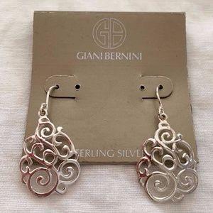Giani Bernini Sterling Silver Filigree Earrings