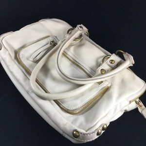 "Linea Pelle ""Dylan"" Italian Leather Handbag"
