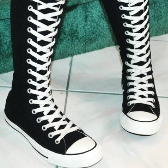 459f979b4188 Converse Shoes - KNEE HIGH CONVERSE CHUCKS SIZE 8