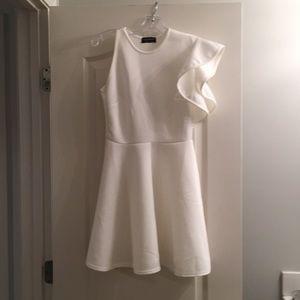 ASOS One Shoulder White Dress Never Worn