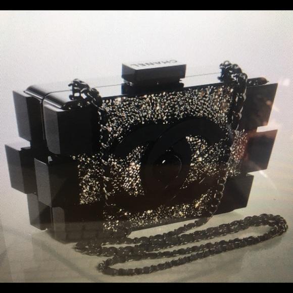 f3b25aeae29b CHANEL Bags | Crystal Authentic Lego Clutch Bag | Poshmark