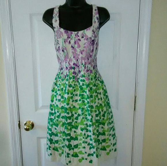 b18488eed0b Anthropologie Dresses   Skirts - Anthropologie Maeve 6 green purple halter  dress