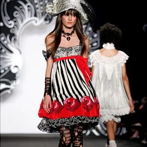 Anna Sui Pirate Dress 2007 Runway Collection
