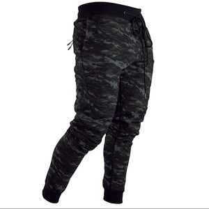 Camo Tech Joggers By Onthec XS - XXL Black Fitted