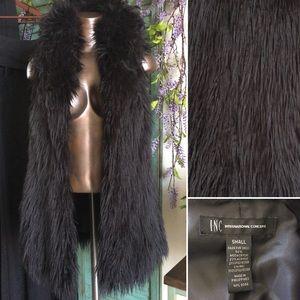 international concepts • faux fur vest