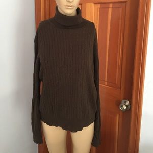Valerie Stevens Cableknit Sweater with Turtleneck