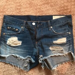Brand new perfect condition rag and bone shorts