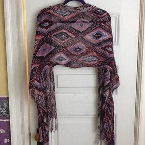 Accessories - Aztec Printed Scarf