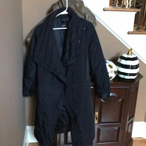 Long puffer blk, by EXPRESS SIZE M