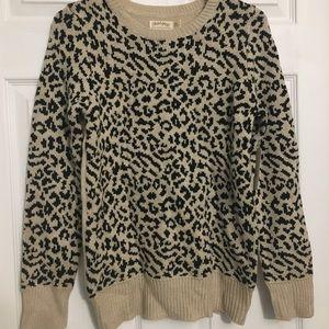 Women's Leopard Sweater