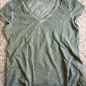 ANA Light Green Short Sleeved Top