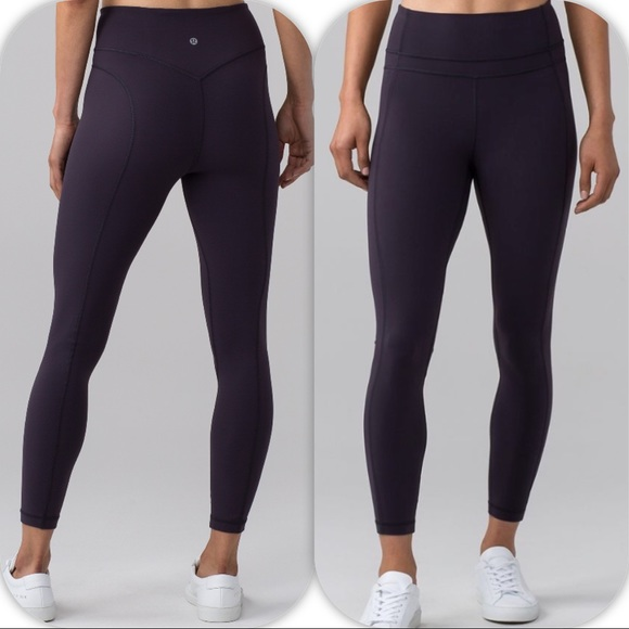 e6639fd29f1 lululemon athletica Pants | Nwt Boysenberry Lululemon Pushing Limits ...