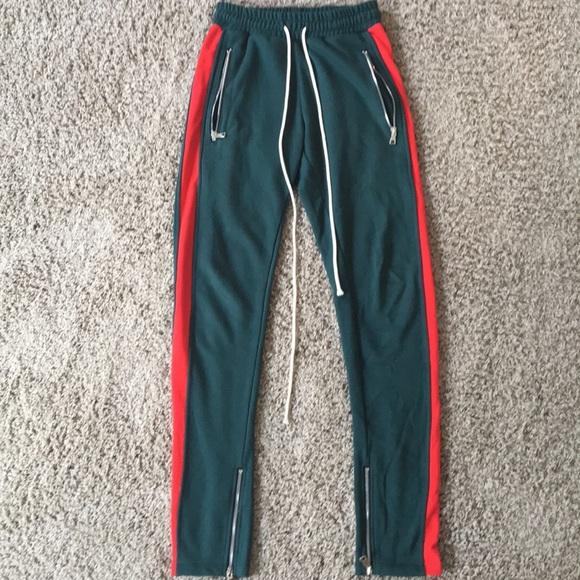 Gucci colorway Trackpants w  zipper sweats joggers ab852c50f9fc
