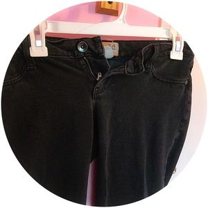 Black Work Pants Skinny Stretch CUTE