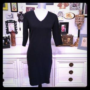 Black sweater midi dress 🖤