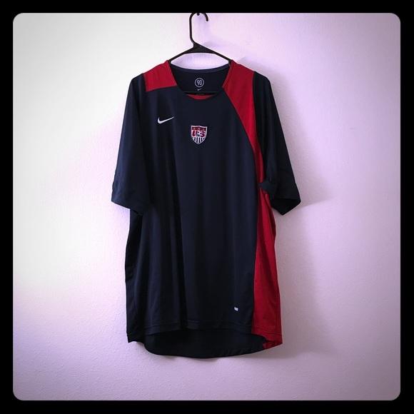 Nike Total 90 Vintage USA Soccer Athletic Tee L b735cb45c