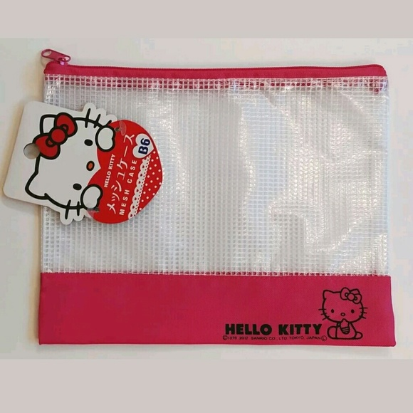 595078b0d2ad Japan exclusive kawaii HK mesh bag Bonus kawaii