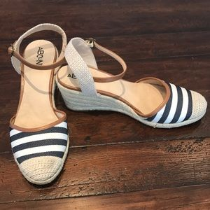 Cute Striped Espadrilles