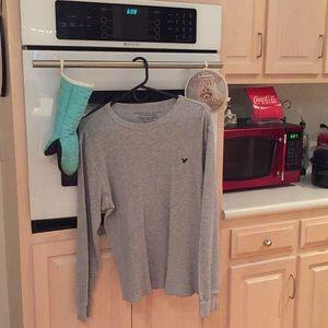 Gray Thermal Shirt!