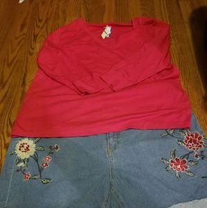Flower Design Shorts