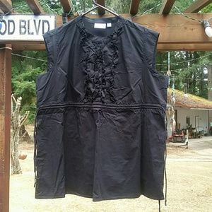 Planet Motherhood Black Top - Size XL