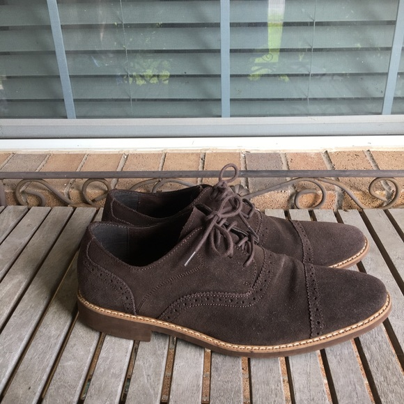 Stacy Adams Shoes - Men's Stacy Adams. Brown Suede Leather Shoes