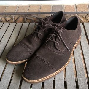 Men's Stacy Adams. Brown Suede Leather Shoes