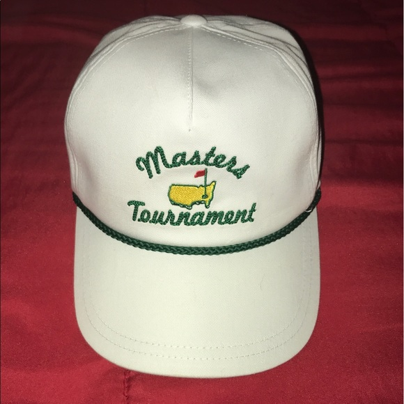 c705b54584b American Needle Other - Masters Tournament SnapBack rope hat