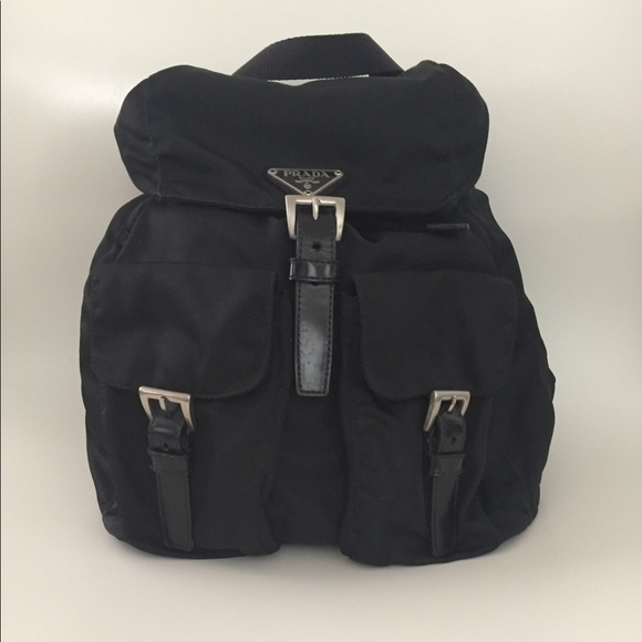 180b60a01279 Authentic Prada Vela Small Backpack. M_59b318a5713fdef575045dda