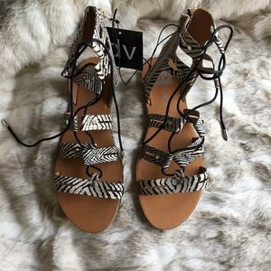 9dd44568ab6 DV by Dolce Vita Shoes - DV for Target Gracelyn Lace Up Gladiator Sandals