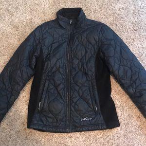 Eddie Bauer lightweight down-alternative jacket