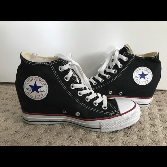 8d4be66e17219a Converse Shoes - NWOT Women s Converse wedge Chuck Taylors. Sz 9.