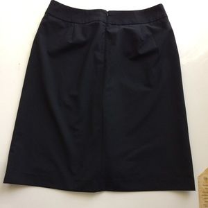 Ann Taylor Skirts - Ann Taylor Loft Front Pleated Black Skirt 3/$30
