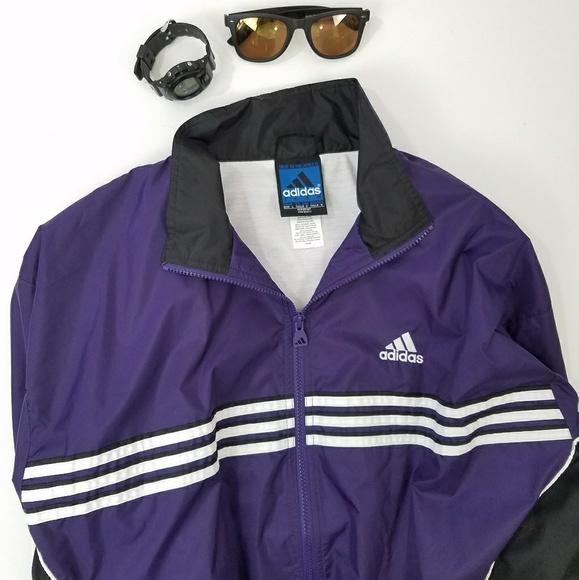 Coats | Mens Adidas Purple