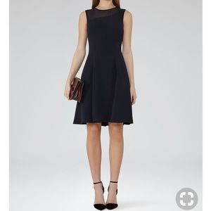 Reiss Black Dress. Size 0. NWOT.