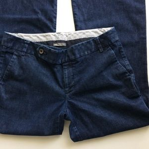 [Gap] Straight Fit Flared Leg Dark Blue Jeans Sz 6