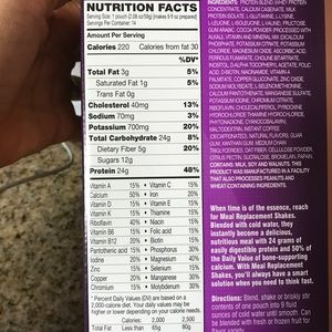 Other - Advocare Meal Replacement Shakes. Chocolate Mocha