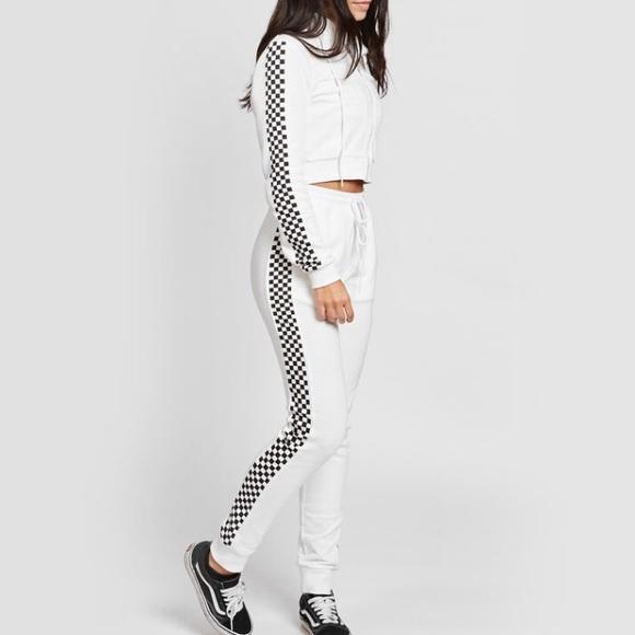 Godspeed Tracksuit in White. - size M (also in L,S,XS) Danielle Guizio