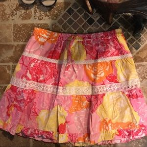 Lilly Pulitzer girl. Size 16.But like Size S woman