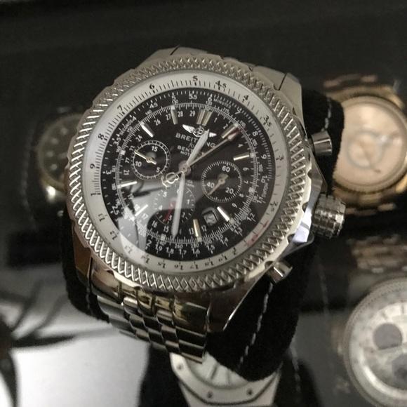 Breitling Bentley Watch >> Breitling Accessories Bentley Watch Poshmark